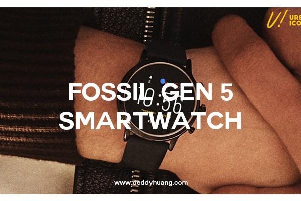 Fossil Gen 5 Smartwatch : Penampilan Makin Stylish dan Berkelas!