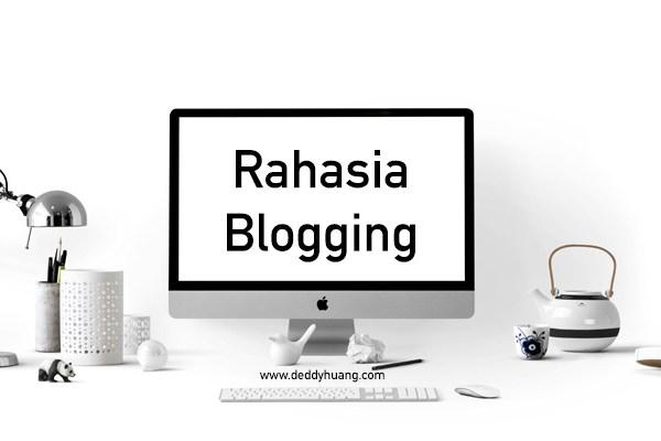 Rahasia Blogging Sukses Meraup Cuan
