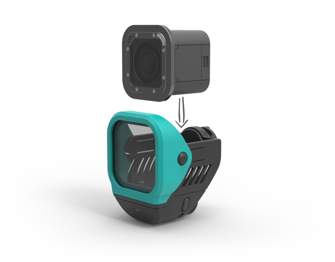 GoPro Accessory mounting