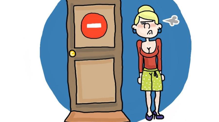 Ce n'est pas la porte a cote Les Dédexpressions