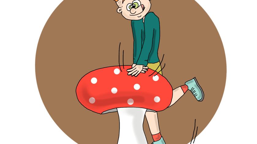 Appuyer sur le champignon les dedexpressions