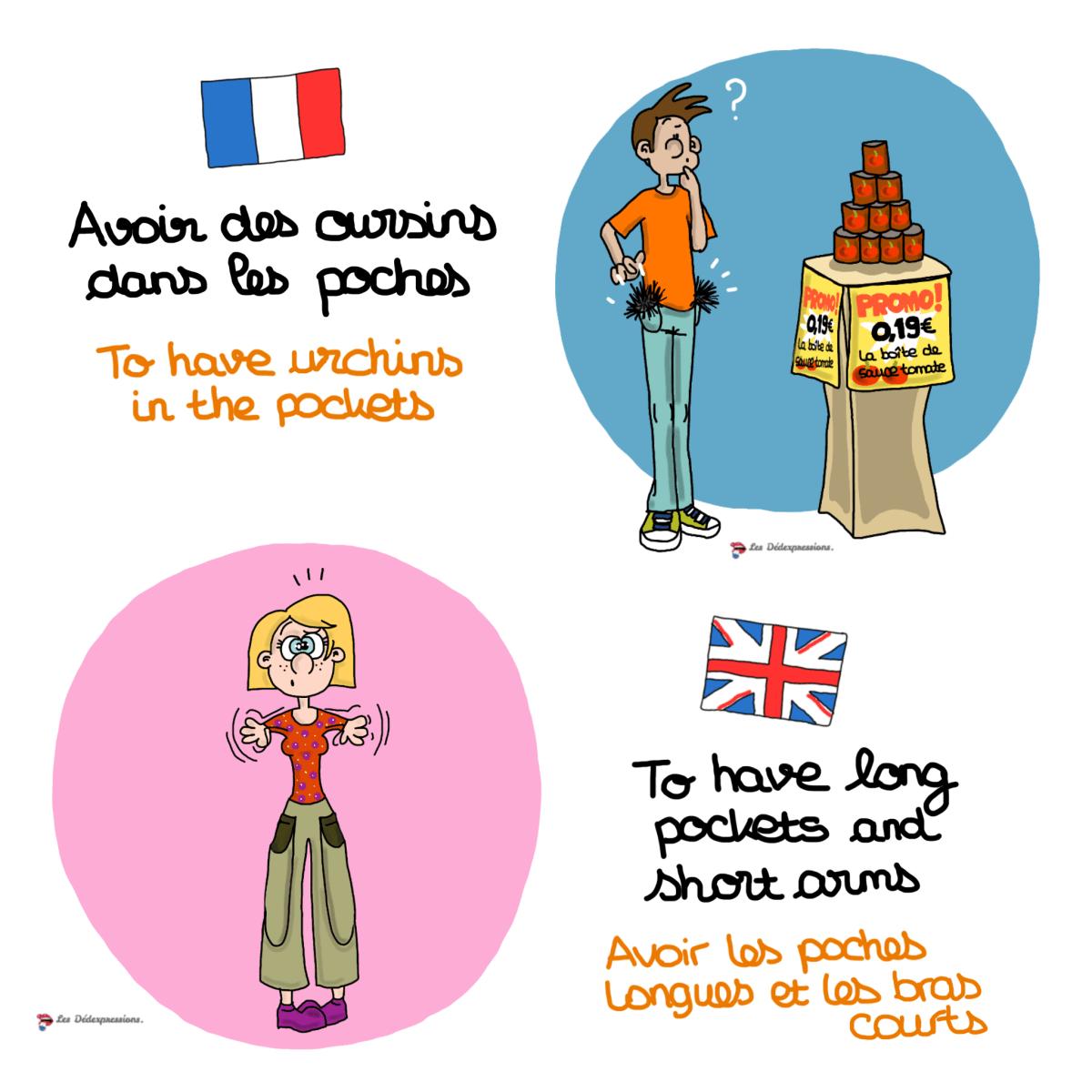 avoir_des_oursins_dans_les_poches_to_have_long_pockets_short_arms_les_dedexpressions