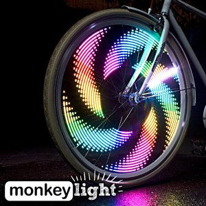 """flashing bike wheel lights"""
