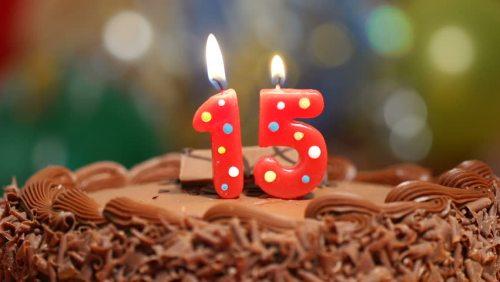 15 años felicidades