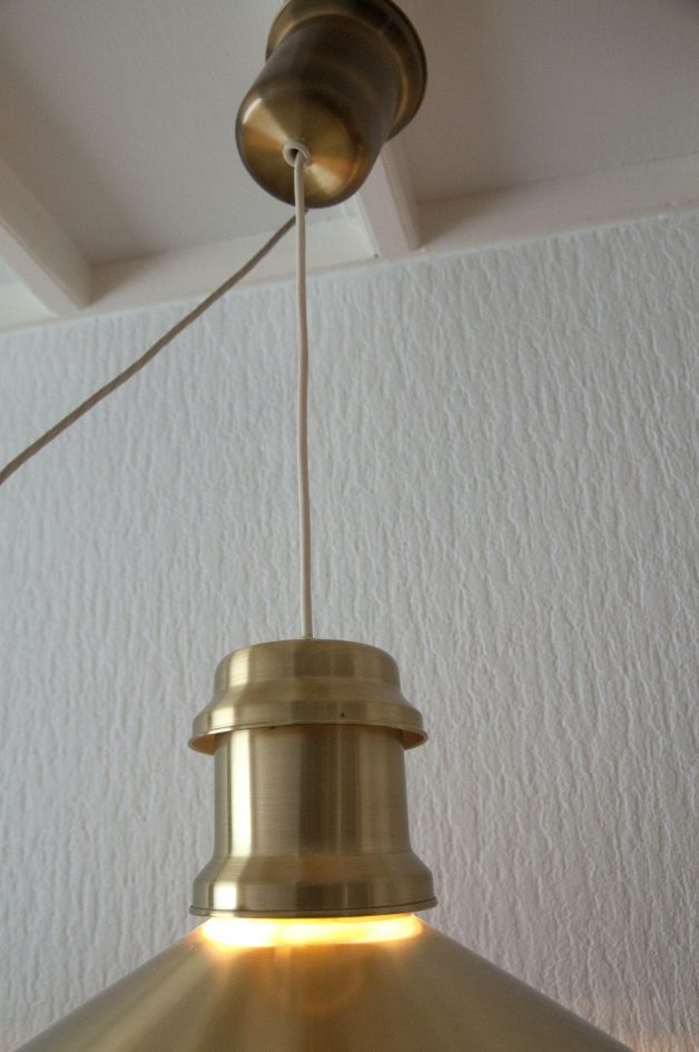 messing hanglamp scheepslamp skibslampe