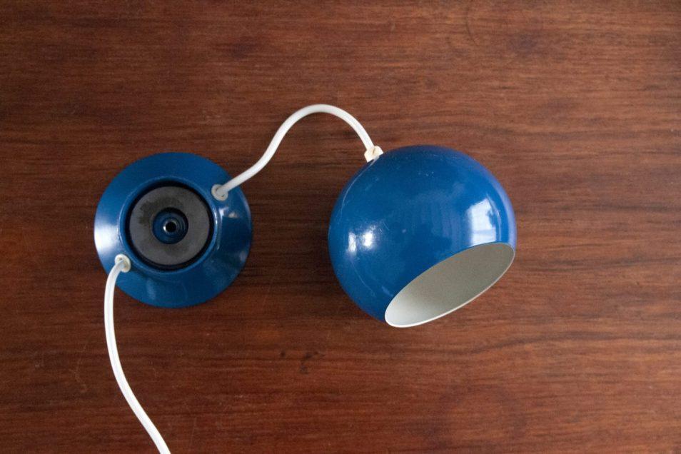 Set blauwe magneetlampen Abo Randers