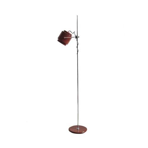 bruine vintage vloerlamp Herda