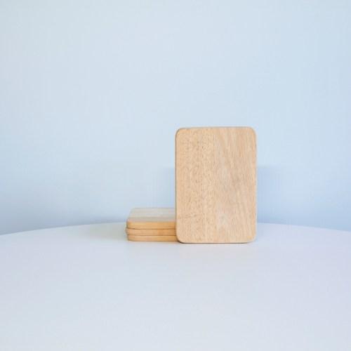 set lichthouten broodplankjes smørbræt