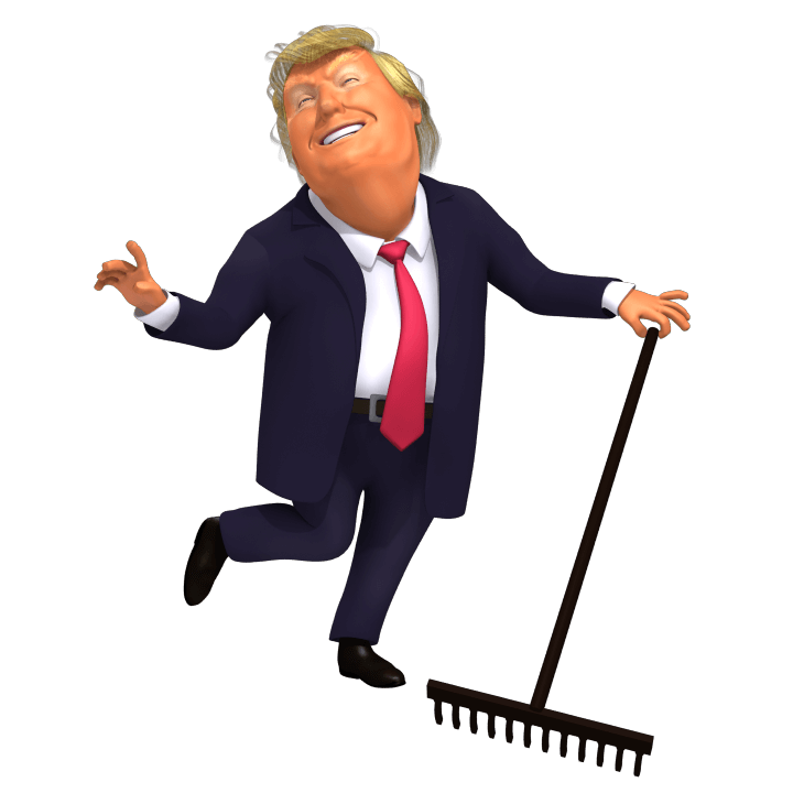 Trump Raking