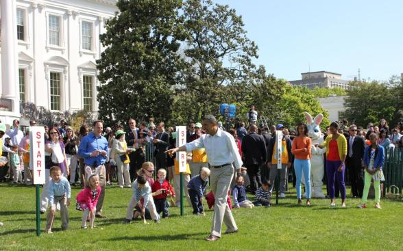 White house Easter Egg hunts