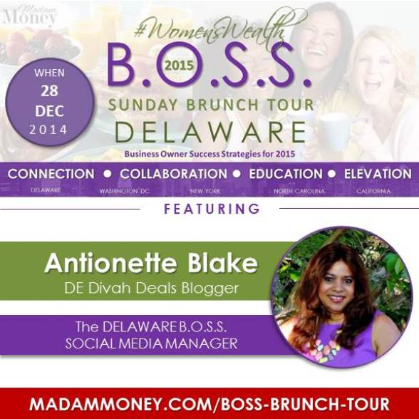BOSS BRUNCH DE - SOCIAL MEDIA MGR - ANTIONETTE BLAKE