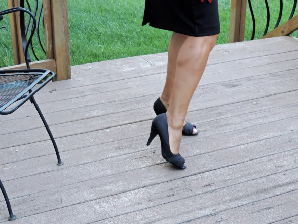 Rocket Dog Peep Toe Pumps from The Shoe Dept