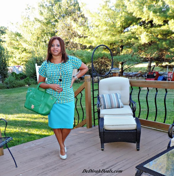 Top - Goodwill // Skirt - JCPenney // Purse - Ross // Shoes - Rugged Wearhouse