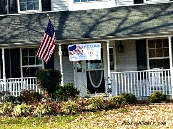 Happy Veteran's Day in our neighborhood.