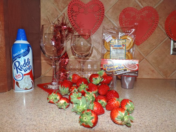 Strawberry Shortcake in a Glass