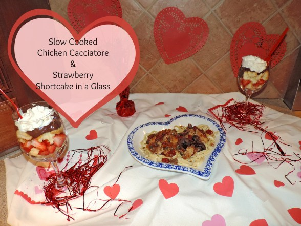 Slow Cooked Valentine's Day Dinner