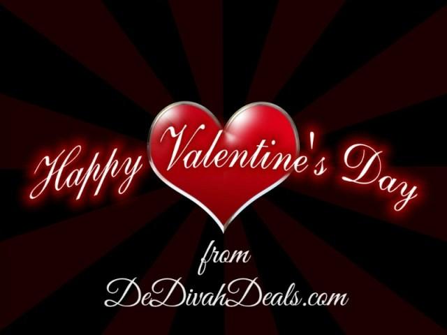Happy Valentine's Day from DeDivahDeals.com