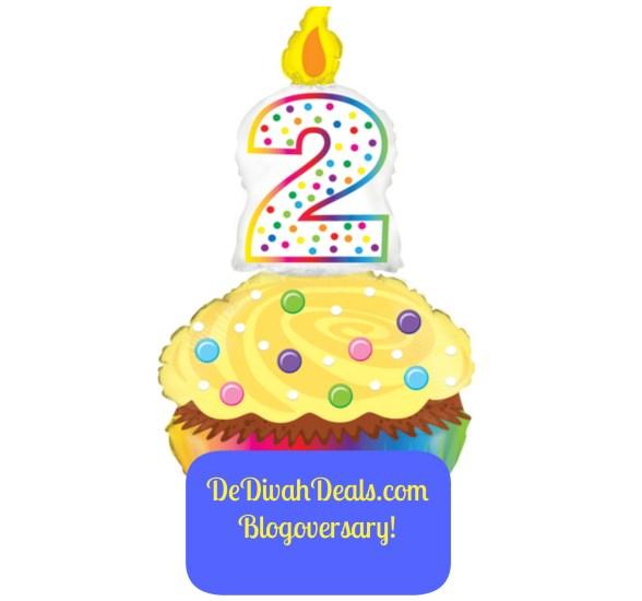 Blogoversary Cupcake
