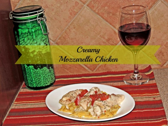 Creamy Mozzarella Chicken