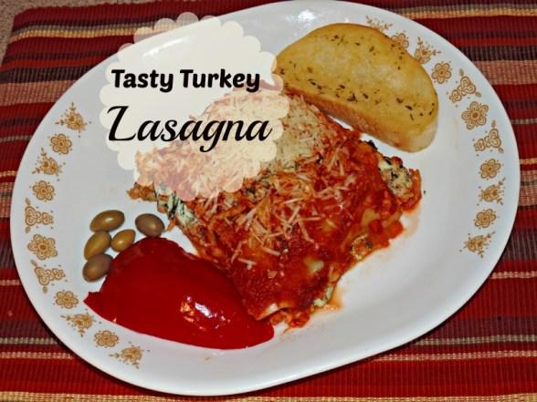 Tasty Turkey Lasagna