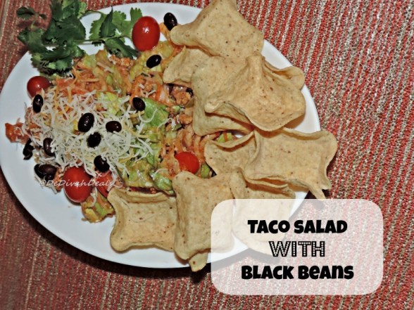 Taco Salad with Black Beans