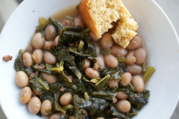 Turnip Greens and Beans