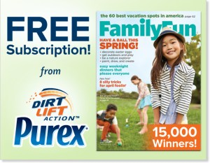 Enter to Win a FREE subscription to Family Fun Magazine