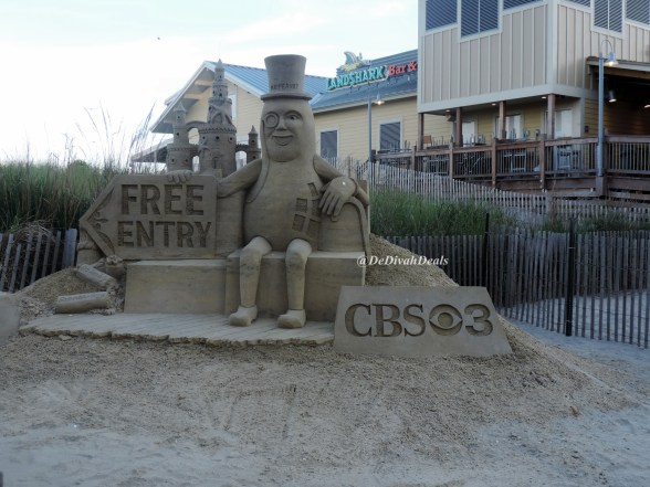 World Cup Sand Sculptures