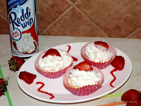 Add Reddi Wip and strawberry