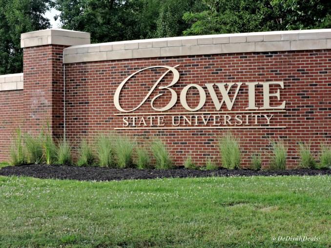 Bowie State University entrance