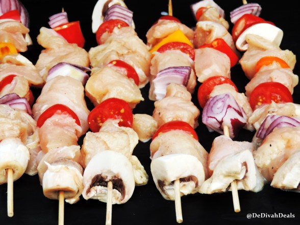 chicken kabobs
