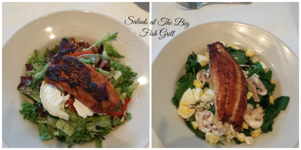 salads at The Big Fish Grill