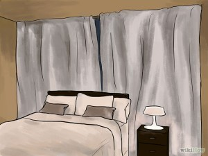 darken room
