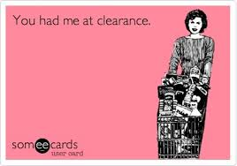 shop sales and clearance racks