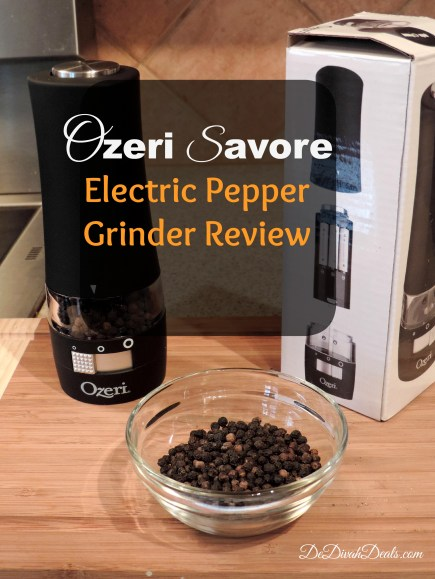 Ozeri Savore Pepper Grinder Review AVI