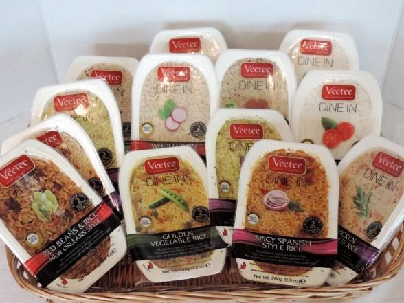 Veetee Rice Varieties