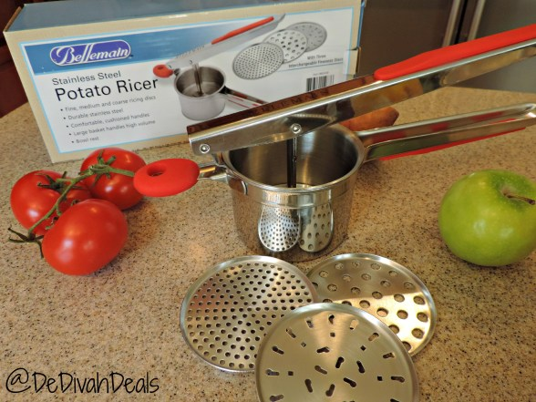 Stainless Steel Potato Ricer Review 002