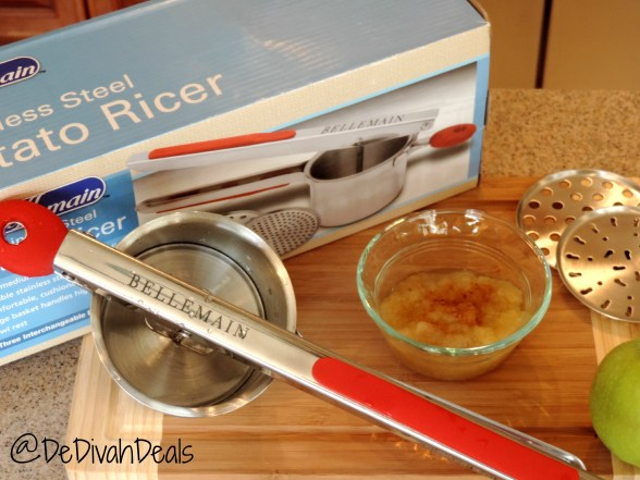 Stainless Steel Potato Ricer Review 017