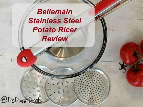 Stainless Steel Potato Ricer Review AVI