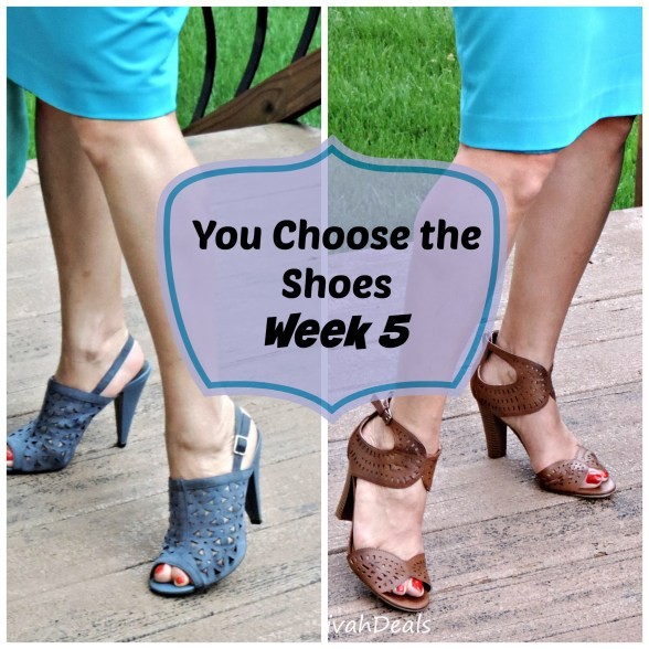 You Choose the Shoes Week 5