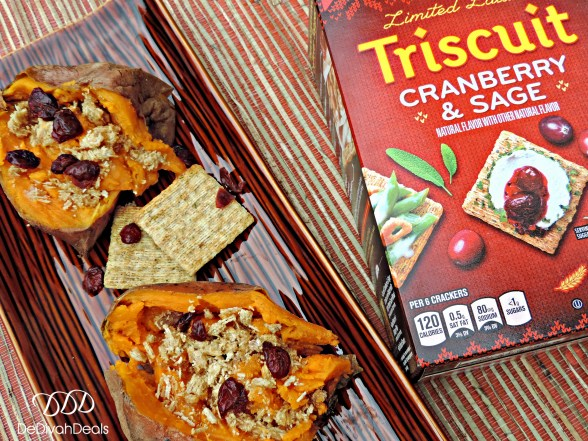 Sweet Potato and Triscuits