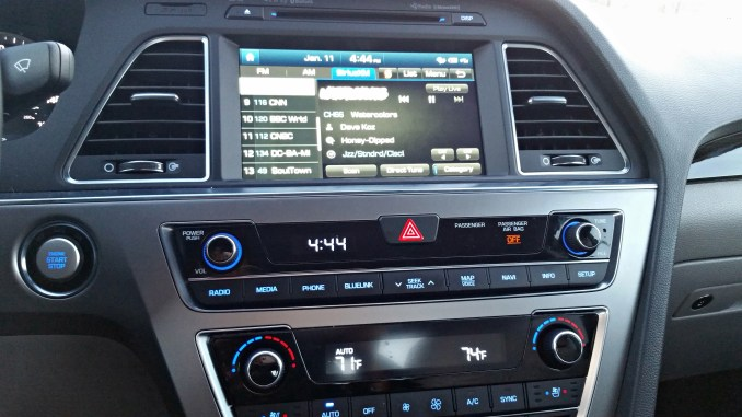 Entertainment System in Sonata