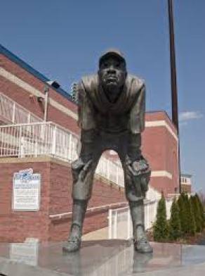 Judy Johnson Statue