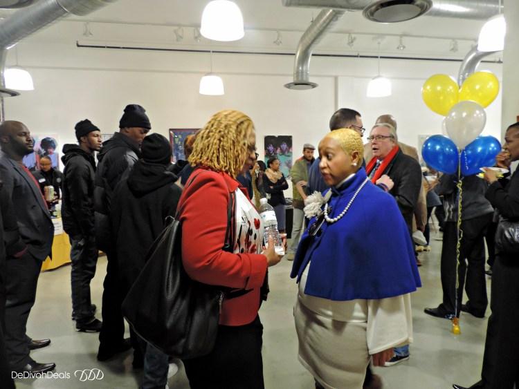 attendees at Rysheema Dixon fundraiser