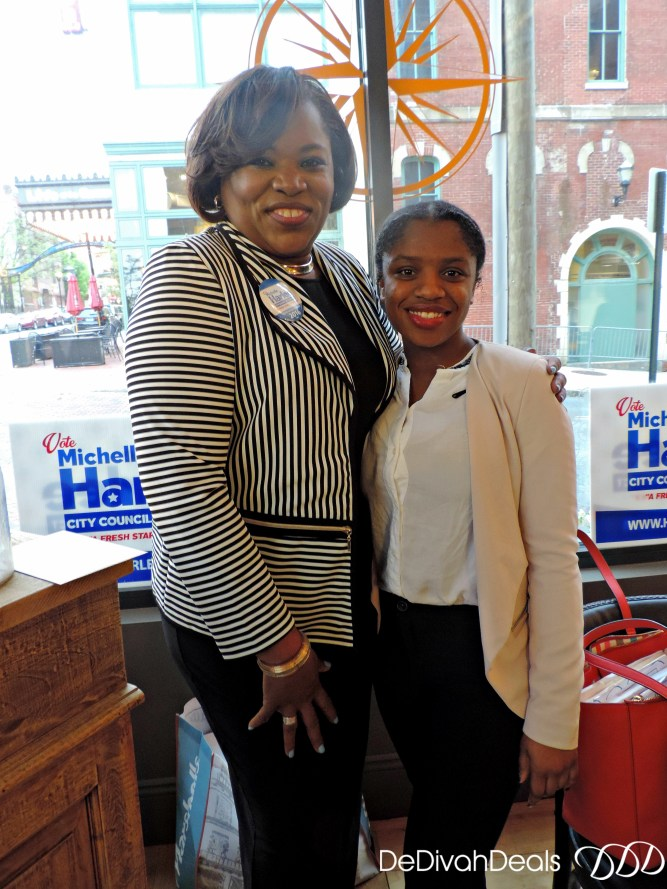 Supporters of Michelle Harlee at Networking event