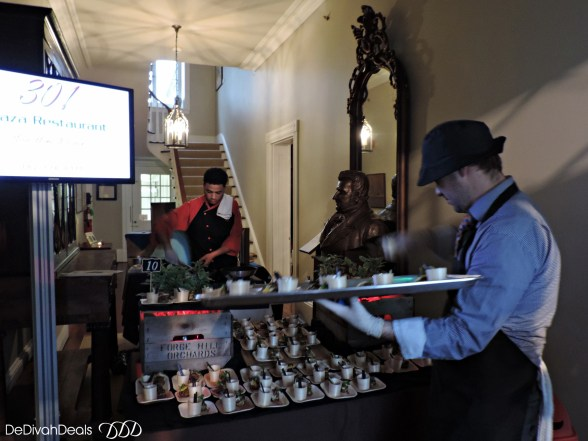 food competition at Buena Vista Mansion
