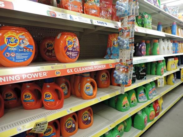 detergent at Dollar General