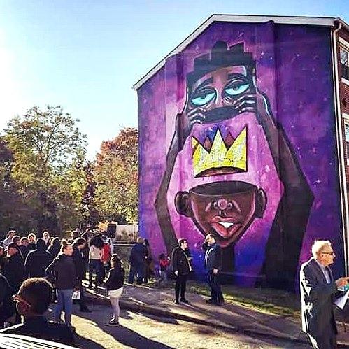 Mural Dedication in Wilmington Delaware