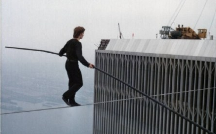 Philippe Petit is the Man on Wire