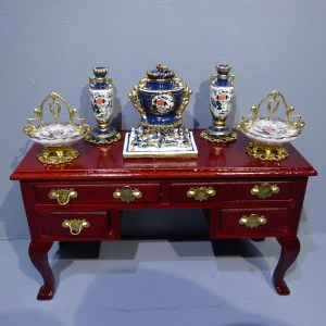 BUFFET Dressed with china to match the Masons dining room designs